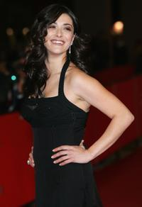 Valentina Lodovini at the premiere of