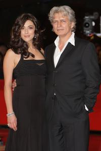 Valentina Lodovini and Fabrizio Bentivoglio at the premiere of
