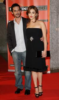 Marco Foschi and Valentina Lodovini at the Martini Premiere Awards ceremony.