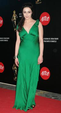 Valentina Lodovini at the Italian Movie Awards