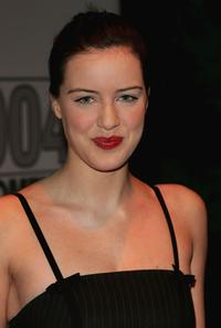 Michelle Ryan at the 2004 TV Moments Awards Ceremony.
