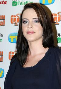 Michelle Ryan at the press conference of