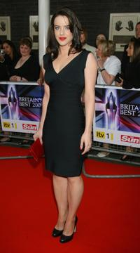 Michelle Ryan at the Britain's Best 2008 awards.