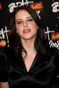 Michelle Ryan at the BRIT Awards 2008.