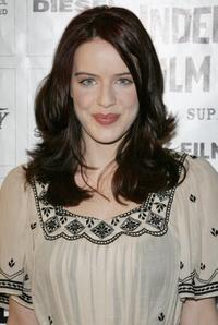 Michelle Ryan at the British Independent Film Awards.