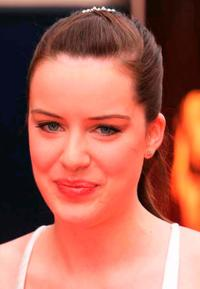 Michelle Ryan at the Pioneer British Academy Television Awards.