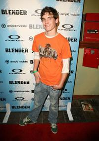 Stephan Bender at the Blender and AMP'd Mobile's X Games 12 Kick-Off party.