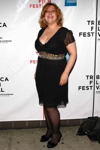 Ashlie Atkinson at the premiere of