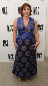 Ashlie Atkinson at the after party of the play opening of