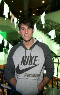 Jonathan Chase at the Lacoste and Barneys New York unveiling of celebrity customized polos.