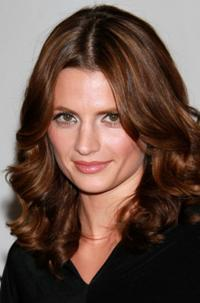 Stana Katic at the Disney ABC Television Group's Summer TCA party.