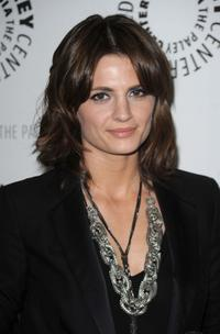Stana Katic at the Paley presentation of