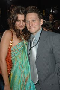Stana Katic and McCaleb Burnett at the premiere of