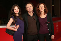 Annabelle Hettmann, director Roberto Garzelli and producer Stephanie Andriot at the premiere of