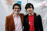Tate Ellington and Producer Emanuel Michael at the premiere of
