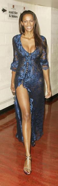 Judi Shekoni at the MOBO Awards in London.