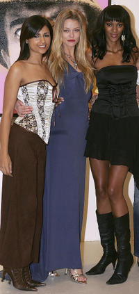 Aruna Shields, Natasja Vermeer and Judi Shekoni at the photocall of
