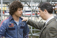 Rod Kimble (Andy Samberg) gets support in his quest for glory from Barry Pasternack (Chris Parnell)