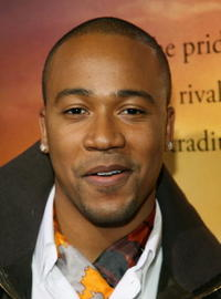 Columbus Short at the L.A. premiere of