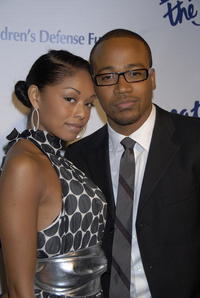 Columbus Short and actress Tanee McCall at the Defense Fund's 17th Annual 'Beat the Odds' Awards in Beverly Hills.