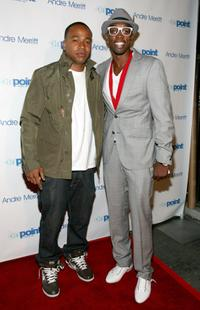 Columbus Short and Andre Merritt at the Andre Merritt's ASCAP Awards After Party.