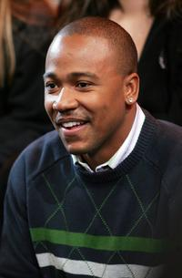 Columbus Short at the MTV's Total Request Live.