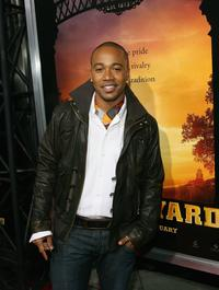 Columbus Short at the premiere of