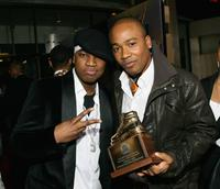 Ne-Yo and Columbus Short at the premiere of