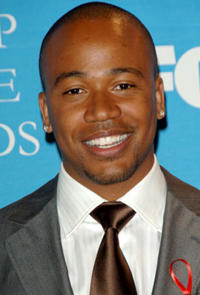 Columbus Short at the 38th annual NAACP Image Awards in L.A.