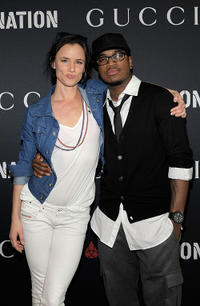 Juliette Lewis and Ne-Yo at the Gucci and RocNation Pre-GRAMMY Brunch in California.