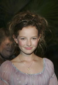 Dakota Blue Richards at New Line Cinema 40th Anniversary Golden Compass party at Cannes.