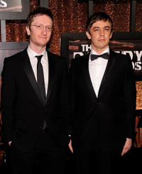Akiva Schaffer and Jorma Taccone at the First Annual Comedy Awards in New York.
