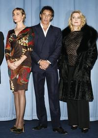 Emmanuelle Beart, Catherine Deneuve and Gerard Lanvin at the premiere of