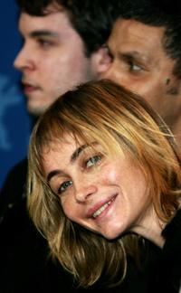 Emmanuelle Beart at the photocall to promote the movie