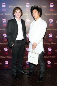 Kyle Gallner and Aaron Yoo at the Bangkok International Film Festival 2009.