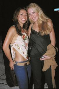 Jodi Ann Patterson and Mercedes McNab at the Joseph's nightclub.