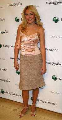 Mercedes McNab at the Sony Ericsson T610 and T616
