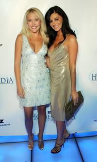 Mercedes McNab and Joleigh Fioreavanti at the Starz Home Entertainment's