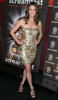 Jill Wagner at the premiere of