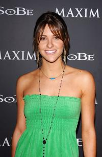 Jill Wagner at the Maxim Magazine and Sobe's