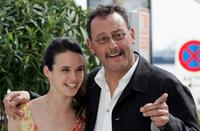 Jennifer Decker and Jean Reno at the photocall of