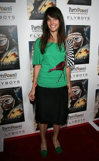 Jennifer Decker at the special screening of