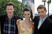David Ellison, Jennifer Decker and James Franco at the photocall of