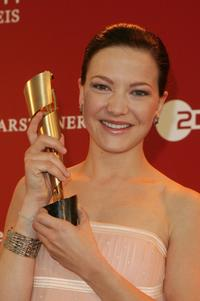 Hannah Herzsprung at the German Film Awards.