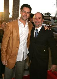 Danny Pino and Julio Mechoso at the premiere of