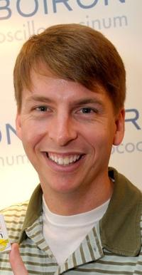 Jack McBrayer at the Luxury Lounge in honor of the 2008 SAG Awards.