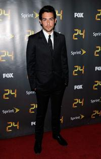 John Boyd at the eighth season premiere of