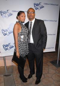 Tanee McCall and Columbus Short at the Children's Defense Fund's 17th Annual