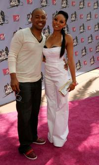 Columbus Short and Tanee McCall at the 2007 MTV Movie Awards.
