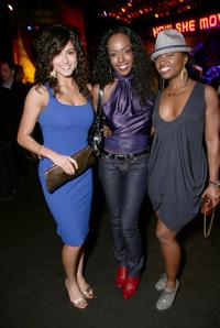 Romina D'Ugo, Tre Armstrong and Tanisha Scott at the after party of the premiere of